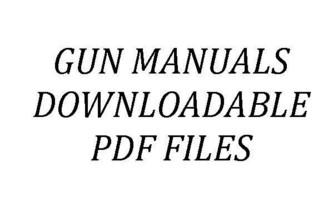 Scotts Gunsmithing - Online Gun Manuals